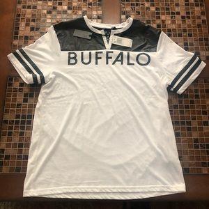 Buffalo David Bitton Shirts - Men's Tee Shirt Large